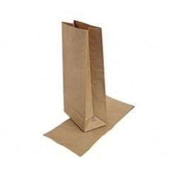 Pytel papírový 26x55x15 hnědý nosnost 10kg 1N