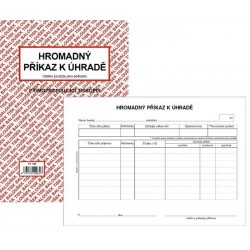 Tiskopis Příkaz k úhradě hromadný A5 BAL NCR PT100