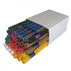 Lepenka E-Welle 260g 50 x 70cm v roli mix barev