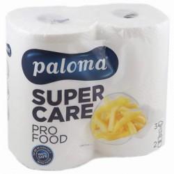 .Kuchyňské utěrky PALOMA SUPER CARE pro FOOD 3vrstvy 2role bílé
