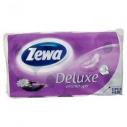 Papír WC 19,3m 150x8 3vrst. ZEWA Aqua tube MIX