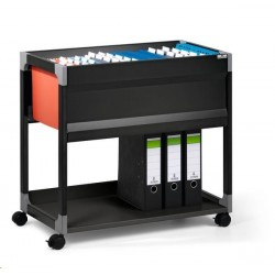 Zboží na objednávku - Pojizdná kartotéka Design Line Durable 3080