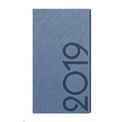 Diář.20 BTJ13-19 Jakub - tora - kapesní týdenní 75x150 modrošedá