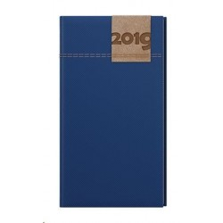 Diář.20 BTJ19-1 Jakub - denim - kapesní týdenní 75x150 modrá