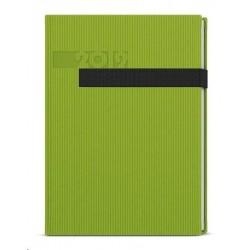 Diář.20 BTO23-5 Oskar - vigo - týdenní A5 143x205 zelená
