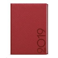 Diář.20 BTO13-6 Oskar - tora - týdenní A5 143x205 červená