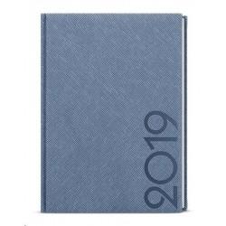 Diář.20 BDD13-19 David - tora - denní A5 143x205 modrošedá