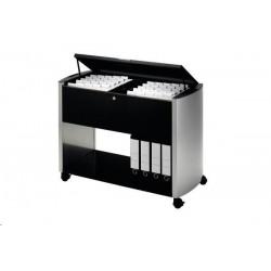 Zboží na objednávku - Pojízdný stolek na závěsné desky Design Line 80 A4 Durable 3076