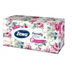 Kapesníky papírové kosmetické /90ks ZEWA De Luxe 3 vrst bílé