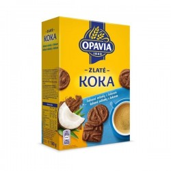OPAVIA Zlaté koka sušenky 180g