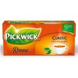 Čaj PICKWICK černý Ranní cejlonský s citronem 25x1.75g
