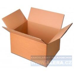 Krabice klopová 330x290x230mm třívrstvá hnědá