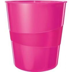 Zboží na objednávku - Odpadkový koš Leitz Wow růžový