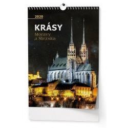Kalendář 21N/BNF7 Krásy Moravy a Slezska 320x450