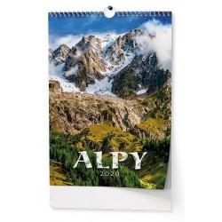 Kalendář 21N/BNF8 Alpy 320x450