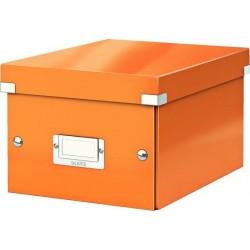 Archivní krabice vel. S/A5 LEITZ 60430044 CLICK-N-STORE oranžová