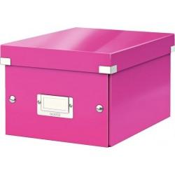 Archivní krabice vel. S/A5 LEITZ 60430023 CLICK-N-STORE růžová