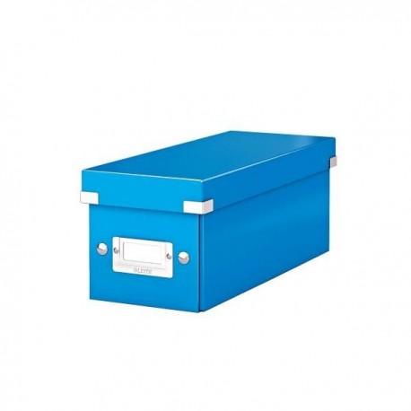 Zboží na objednávku - Archivní krabice na CD LEITZ 60410051 CLICK-N-STORE ledově modrá