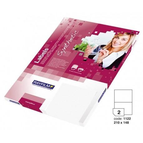 Zboží na objednávku - Fólie R0504 A4 100listů bílá lesklá samolepicí laser/copy 210x148
