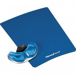 Zboží na objednávku - Podložka pod myš Palm Health-V CRYSTAL gelová Microban modrá