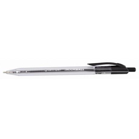 Popisovač roller Centropen 2225/1 SLIDEBALL Clicker černý [ POUZE PO 10-ti ks ]