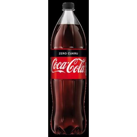 Nápoj COCA-COLA ZERO bez cukru 1,75 lt (prosíme objednávat po 6-ti ks)