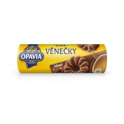 Sušenky OPAVIA Zlaté věnečky kakaové 150g