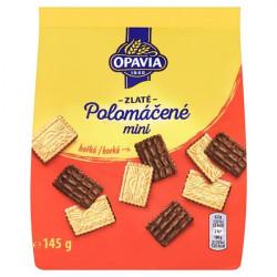 Sušenky OPAVIA Zlaté MINI polomáčené hořké 145g