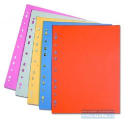 Zboží na objednávku - Rozřaďovač A4+ 100 listů s europerforací CLASSIC oranžová