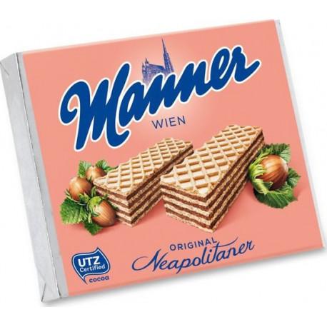 Oplatky MANNER Neapolitaner oříškové 75g
